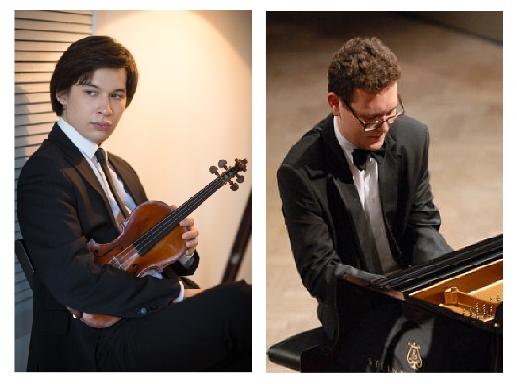 АЙЛЕН ПРИТЧИН (скрипка) - ЮРИЙ ФАВОРИН (фортепиано)